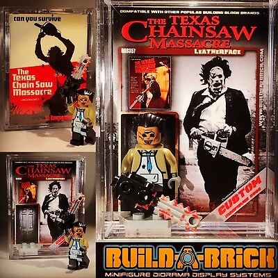 Horror Leather Face Texas chainsaw massacre Custom Mini Action Figure wCase 364