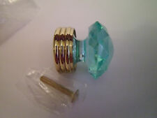 Item 5 Set Of 17 Laurey Cabinet Knobs, Drawer Pulls, Seafoam Green Crystal  Look W/ Gold  Set Of 17 Laurey Cabinet Knobs, Drawer Pulls, Seafoam Green  Crystal ...