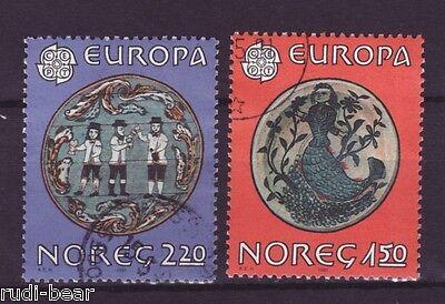 Europa Folklore Elegant Im Geruch Gutherzig Norwegen Nr 836-37 Gest