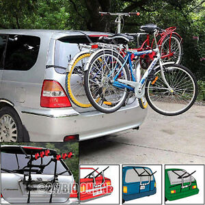 CAR-CYCLE-CARRIER-3-BICYCLE-BIKE-RACK-UNIVERSAL-FITTING-SALOON-HATCHBACK-ESTATE