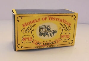 Repro-box-MATCHBOX-MOY-N-12-Horse-Bus