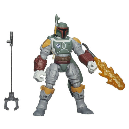 Star Wars Deluxe Hero Mashers Boba Fett Fully Kitted out Character