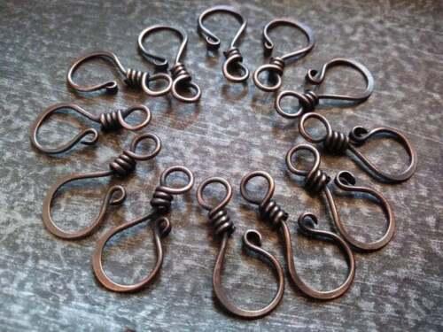 Hook Clasp Handmade Choose Your Metal