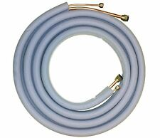 """Mini Split Line Set Extension 25FT 1/4'' and 3/8"""" Flared Insulated Copper"""