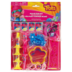 Dreamworks-Trolls-Birthday-Party-Value-Favour-Loot-Bags-Pack-48-Items