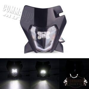 E Mark LED Headlight For KTM EXC XCF XCW SXF 250 300 350