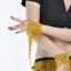 1-Paire-Belly-Dance-Danse-Bracelet-Orientale-Partie-Superieure-Du-Bras 縮圖 8