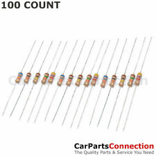100 X 1m Ohm Flame Retardant Carbon Film Resistors 14 Watt 5 Shipping From Us