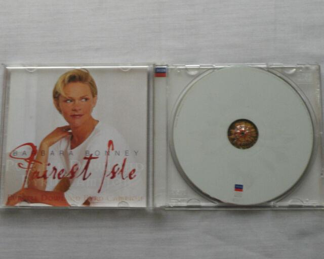 Barbara BONNEY Fairest isle (PUCELL-DOWLAND-BYRD-CAMPION) CD DECCA (2001) MINT