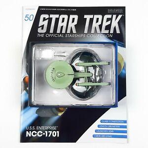 Star-Trek-Starship-Collection-TOS-USS-ENTERPRISE-1701-Model-Eaglemoss-Issue-50