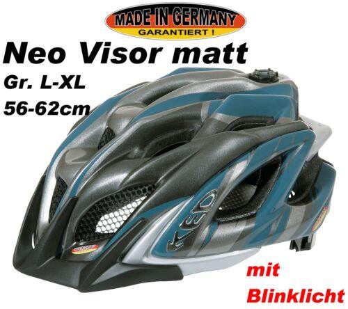 KED Neo Visor Petrol Anthracite mat Taille L 56-62 cm 10323096 L NEUF
