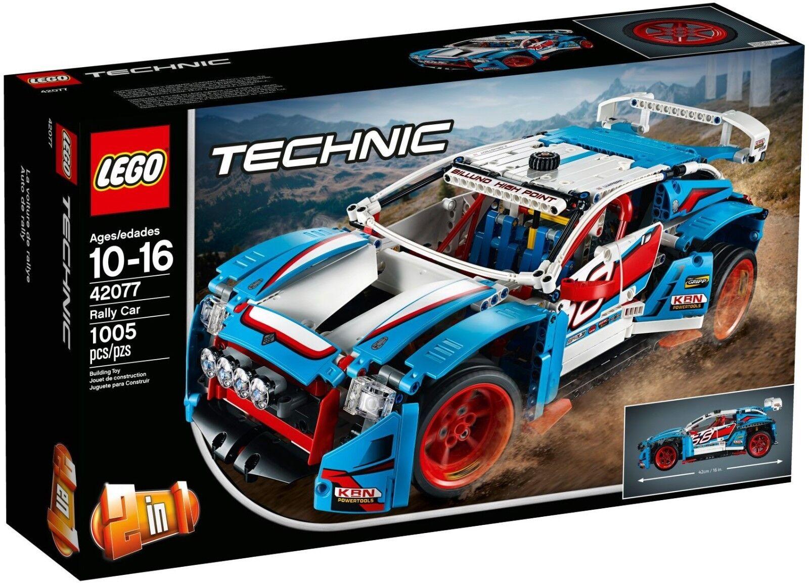 Lego Technic - 42077 - La voiture de rallye - Neuf et Scellé