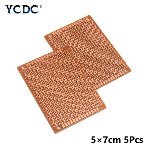 DIY Proto PCB Universal Printed Circuit Board One-sided Breadboard 5//10Pcs PCB