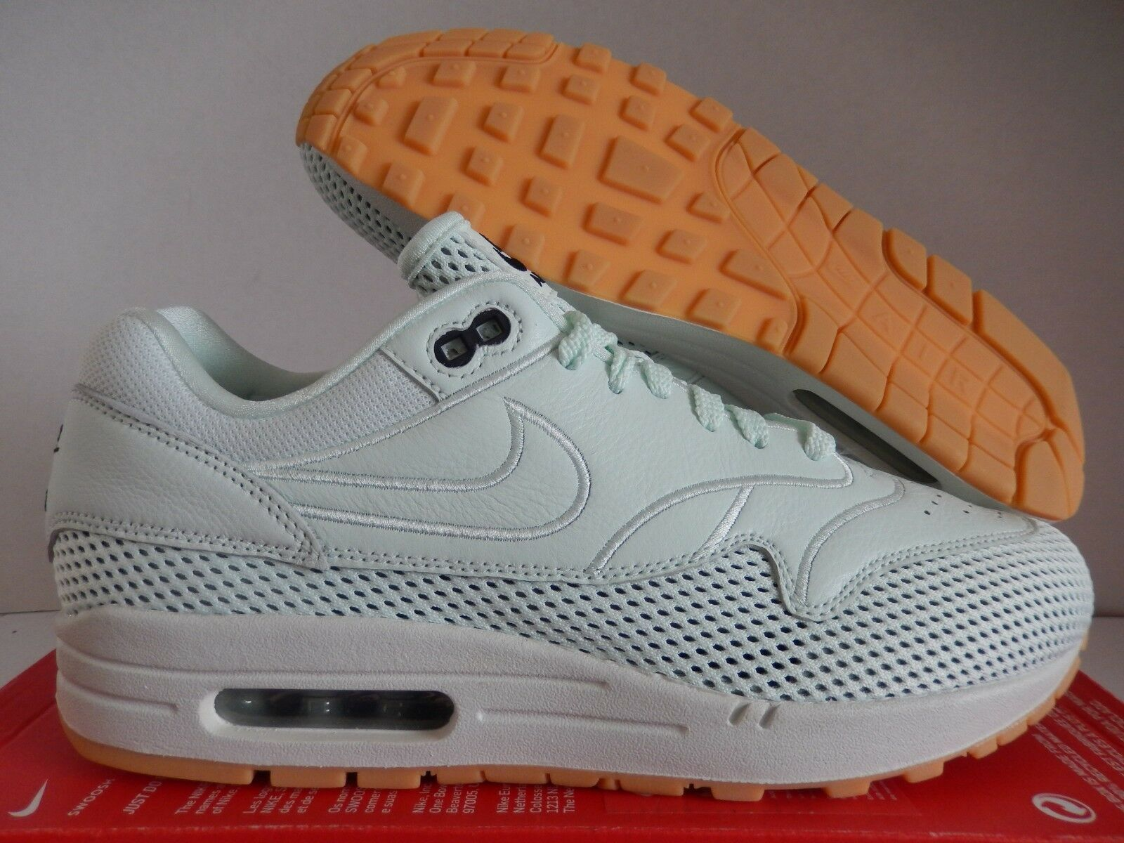 Nike air max 1 e a malapena green sz 12 donne / uomini sz - ao2366-300]