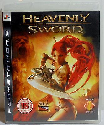 Sony Ps3 European Region 2 Heavenly Sword 100 Complete Video Game