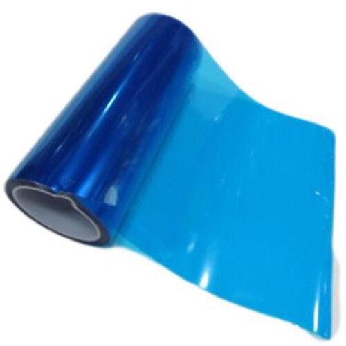 Tinte Azul Coche Faros película Luz Trasera Cola Luz Antiniebla envoltura de vinilo 4 Tamaños AC75