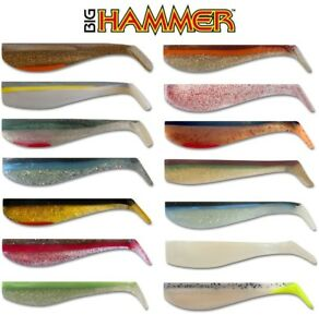 5-pack-4-034-BIG-HAMMER-SWIMBAITS-HAND-POURED-SALTWATER-amp-FRESHWATER-SELECT-COLOR