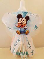 Mickey Mouse Centerpiece Bottle Large 12 Baby Shower Piggy Bank Boy Decoration