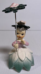 Napco-Flower-Of-The-Month-Girl-Miss-Rose-June-A1949-1956-Umbrella-Parasol