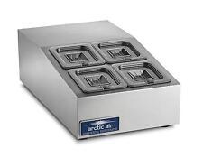 "Arctic Air 15"" Refrigerated Compact 4 Pan Counter-Top Prep Unit - ACP4SQ"