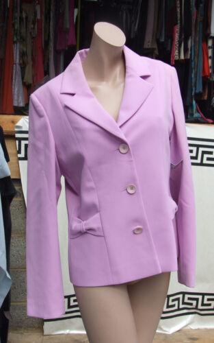 Pierre Splendida Elegante con francese sfarzosa giacca 10 lilla fiocchi Max e UqxTdHwU