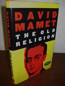 1st Edition The Old Religion David Mamet First Printing Fiction Classic Novel