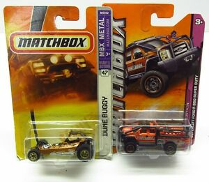 1-64-Matchbox-X-2-Superlift-Ford-F-350-Super-Duty-Dune-Buggy-MIP