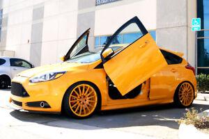 Vertical Doors Inc Bolt On Lambo Door Kits for Ford Focus 2010-2015