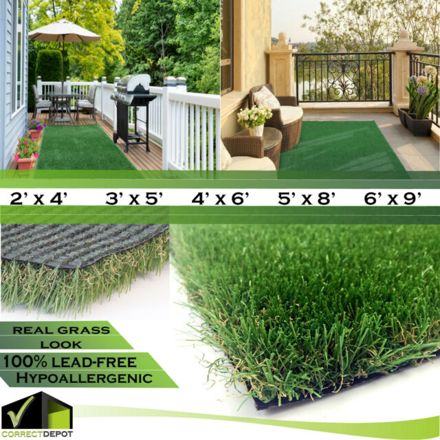 Allgreen Chenille Deluxe Multi Purpose Artificial Grass Synthetic Turf Rug 5 X For Sale Online Ebay