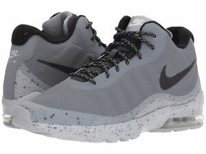 Details about NIB MEN'S NIKE AIR MAX INVIGOR MID GREY BLACK SAMPLE SIZE 9  FAST SHIPPING