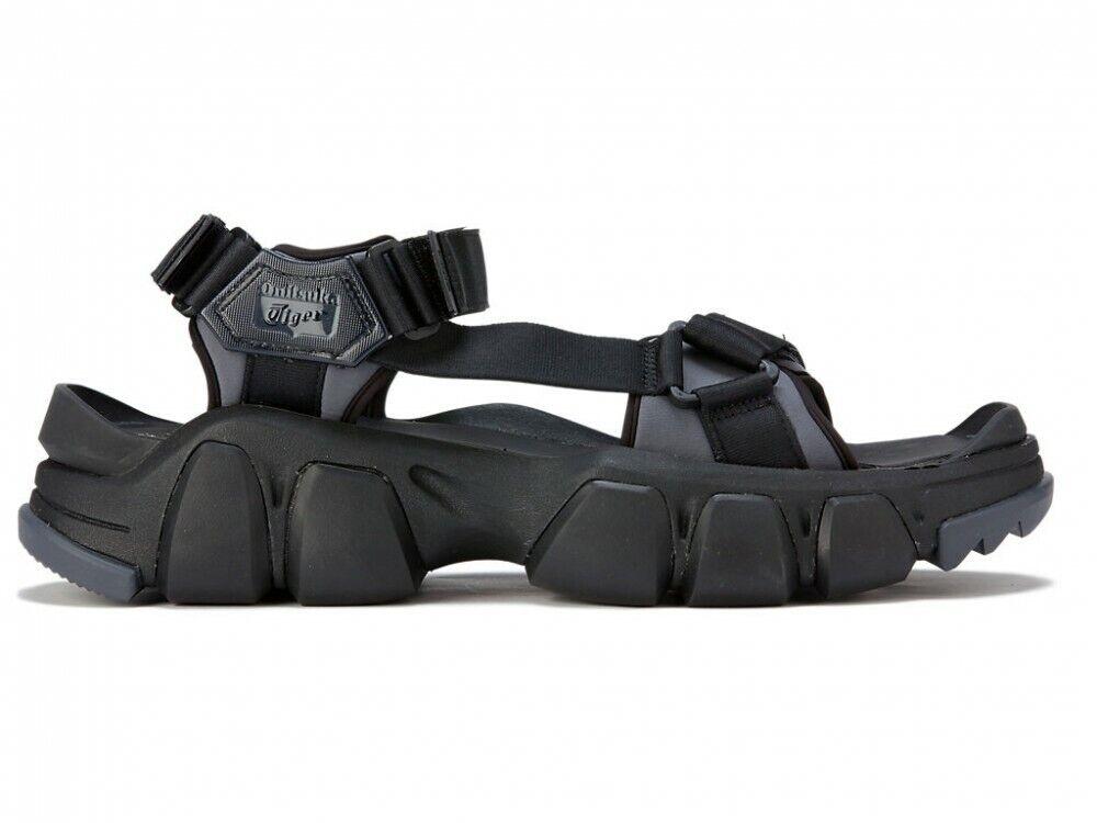 Asics Onitsuka Tiger DENTIGRE STRAP 1183B256 BLACK/BLACK With shoe bag