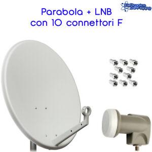 ANTENNA-PARABOLA-SATELLITARE-DVBS-60CM-CON-LNB-FTE-OMAGGIO-10-CONNETTORI-F