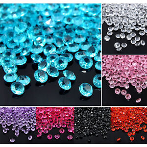 1000-Table-Confetti-Wedding-Scatter-Craft-Acrylic-4-5mm-Crystal-Bead-Party-Decor