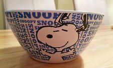 Snoopy / Peanuts / Müsli Schale Schüssel Bowl Geschirr / Neu aus USA / blau