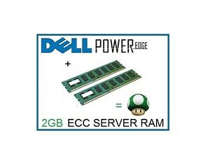 Details about 4GB (2x2GB) Memory Ram Upgrade for the Dell Poweredge SC430 &  SC440 Server Only