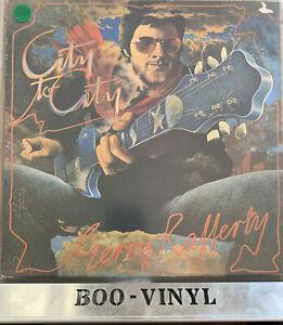 GERRY RAFFERTY ~ CITY TO CITY ~ FAME 1985 UK CLASSIC ROCK VINYL LP ~ VG+ / VG+