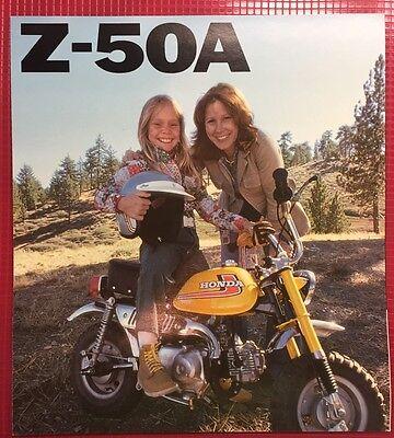 NOS 1981 Z50R Z50 Honda Dealer Brochure L7