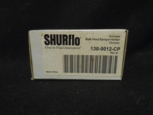 MARINE SHURFLO P//N 130-0012-CP BULK HEAD SPRAYER CHROME HOLDER