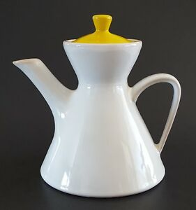 Jonathan-Adler-Ojai-Dinnerware-Coffee-or-Tea-Pot-White-with-Yellow-Lid-7-1-2-034