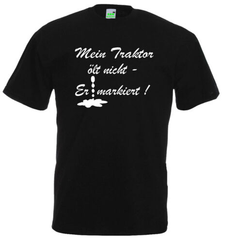 Tracteur T-Shirtmon tracteur échappe pas-Il marqué!remorqueur 10-511