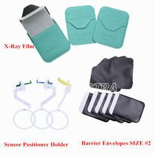 Dental X Ray Film Barrier Envelopes Size 2 Sensor Positioner Holder