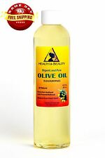 OLIVE OIL REFINED ORGANIC COLD PRESSED by H&B Oils Center FRESH 100% PURE 8 OZ
