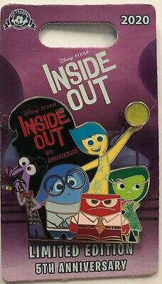 Details about  /Disney Inside Out Anger Pin