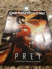GAMEINFORMER MAGAZINE JANUARY 2017 PREY RESIDENT EVIL 7 DEADPOOL NINTENDO SWITCH