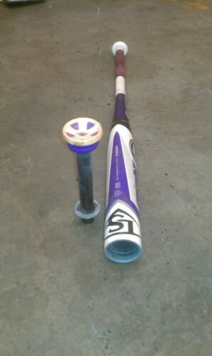 Louisville Slugger Xeno Fastpitch Softball Bat Disc S1iD Ring or Rattle Removal