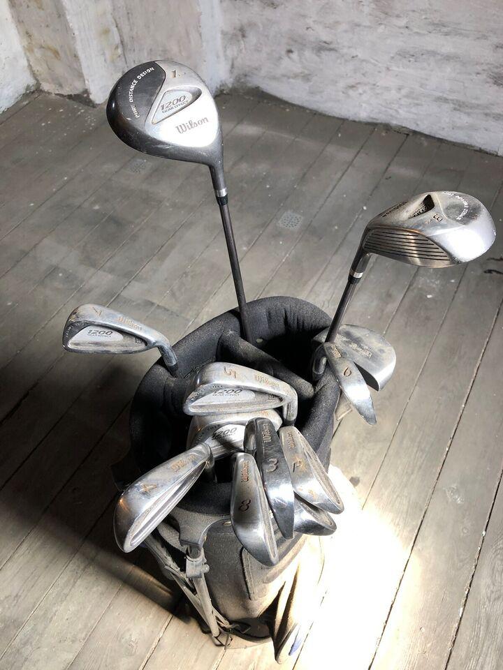 Herre golfsæt, stål, Wilson