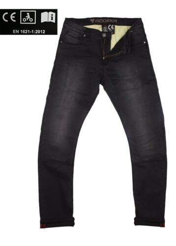 Été Moto Jeans Pantalon Glenn Noir Pantalons Motard vêtements ce examiné