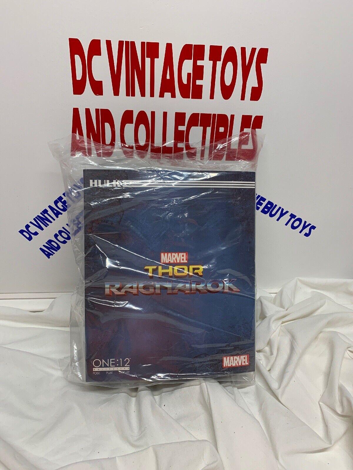 NIB USA  Mezco Toys One 12  Marvel Thor Ragnarok Gladiator Hulk Action Figure  économiser jusqu'à 70% de réduction
