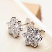 2017 New products 925 silver jewelry Fashion zircon earrings fine Female Gift