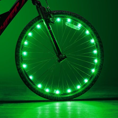 W 2 Tire Set Ultra Bright LED Bike Wheel Spoke Light String